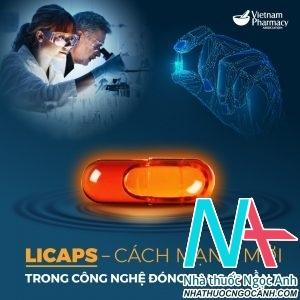 công nghệ đóng nang Licaps