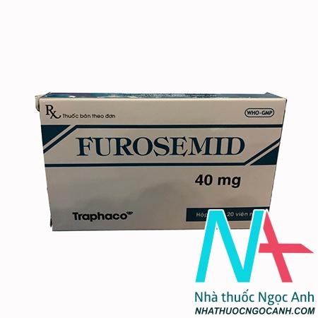 Thuốc Furosemide
