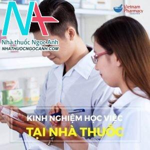 kinh nghiệm học việc tại nhà thuốc