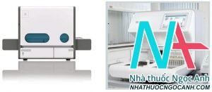 Bệnh viện Đại học Y Hà Nội đang sử dụng hệ thống máy xét nghiệm nước tiểu tự động hoàn toàn, thế hệ mới nhất sản xuất tại Mỹ và Châu Âu.