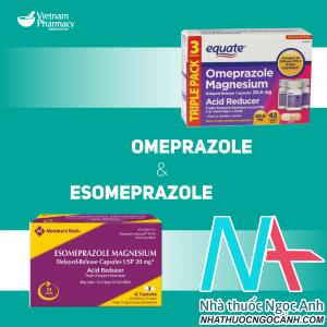 Omeprazole và Esomeprazol