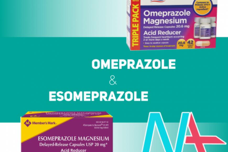 So sánh OMEPRAZOLE và ESOMEPRAZOLE