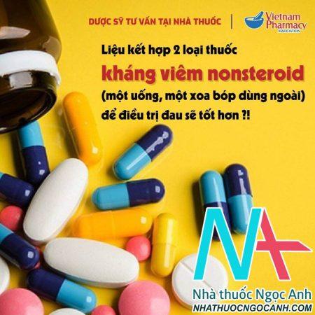 phối hợp thuốc NSAIDs