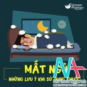 lưu ý khi sử dụng thuốc điều trị mất ngủ