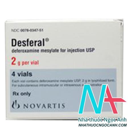 thuốc Desferal 2g
