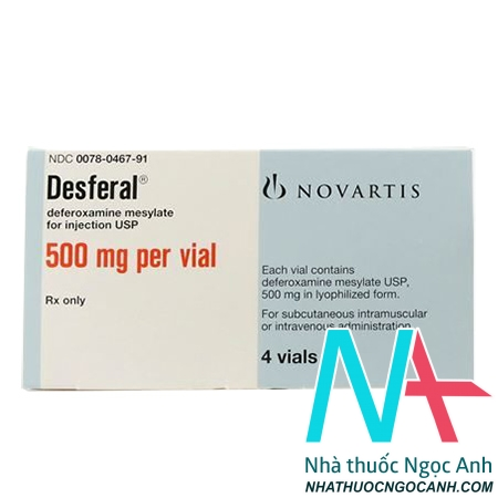 thuốc Desferal 500mg
