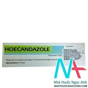 thuốc HOECANDAZOLE Cream 15mg