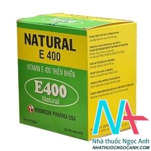 Natural E400 Vitamin E