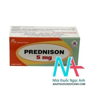 thuốc PREDNISON 5mg Domesco
