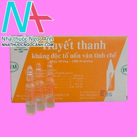 Huyết thanh kháng độc tố tinh chế