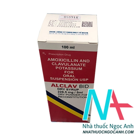 Alclav Bid Dry Syrup 228.5 mg/5ml