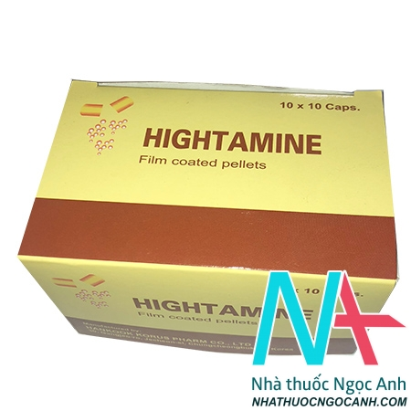 thuốc Hightamine giá bao nhiêu