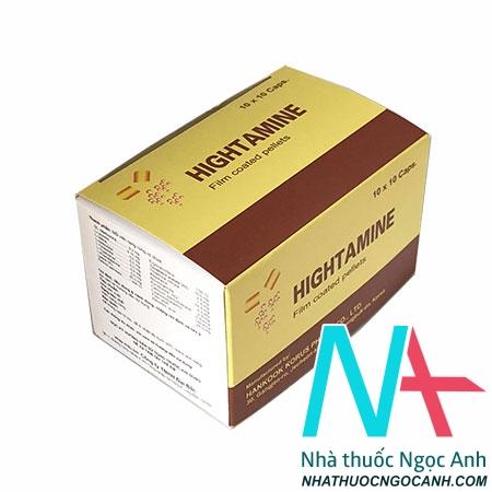 thuốc Hightamine là thuốc gì