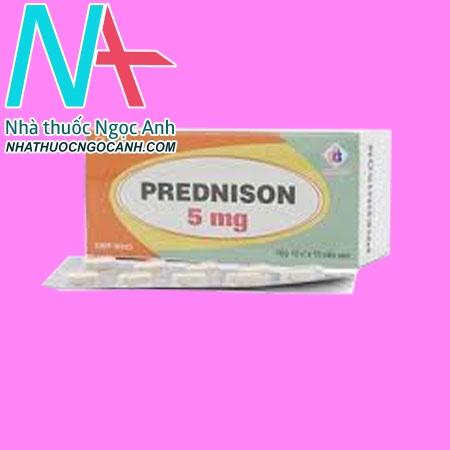 Thuốc Prednison 5mg