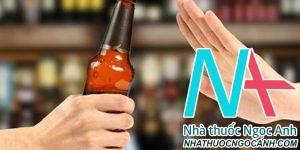Không uống rượu là cách hỗ trợ trợ viêm gan tốt nhất