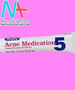 Rugby Acne Medication Benzoyl Peroxide Gel 5%1.5OZ