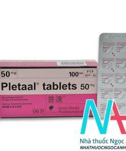 thuốc Pletaal tablets 50mg