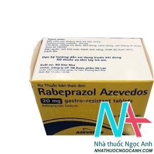 Hình ảnh: Thuốc RABEPRAZOL AZEVEDOS 20mg