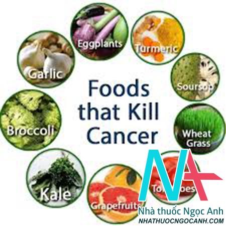 thực phẩm ngăn ngừa ung thư di căn