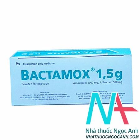 Thuốc Bactamox® 1,5 g giá bao nhiêu
