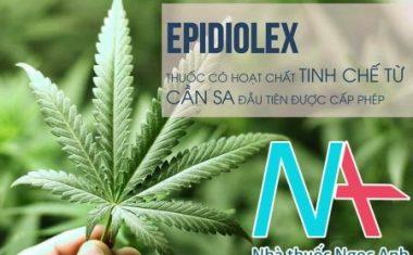 Epidiolex – Thuốc chứa hoạt chất tinh chế từ cần sa đầu tiên được cấp phép