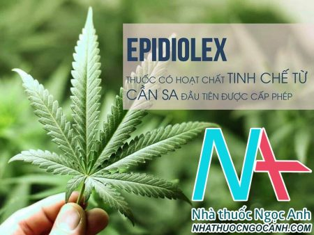 Thuốc chứa hoạt chất tinh chế từ cần sa