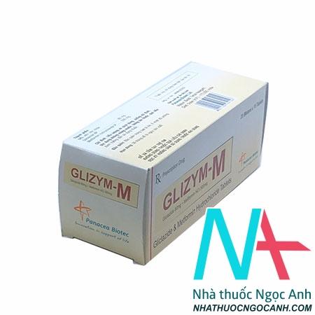 Thuốc Glizym-M
