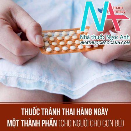thuốc tránh thai hàng ngày