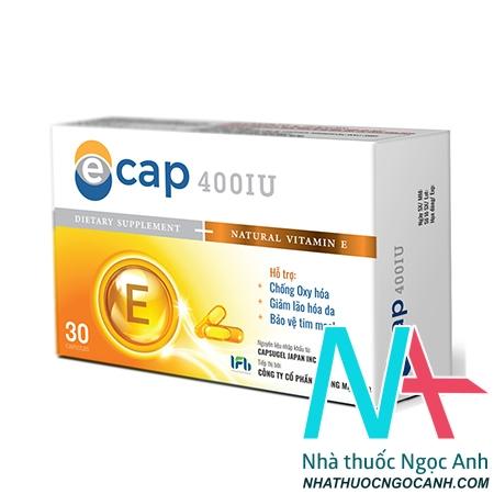 vitamin E ecap