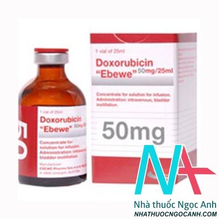 Doxorubicin Ebewe 50mg/25ml