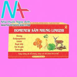 Homenew Sâm nhung Linhzhi
