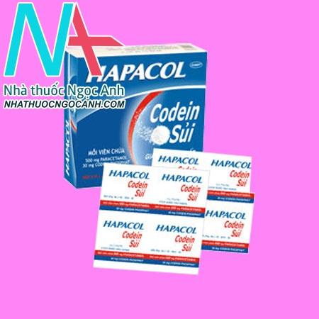 Hapacol Codein Sủi