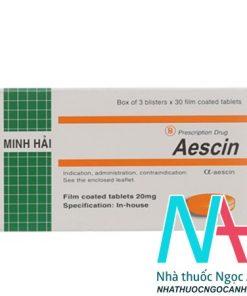 thuốc Aescin Minh Hải 20mg