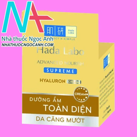 Hada labo Advanced Nourish Supreme Hyaluron Cream