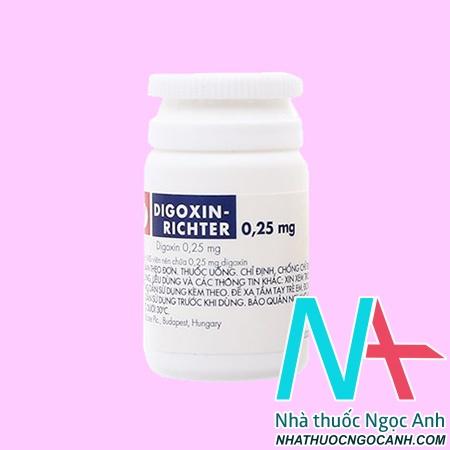 thuốc digoxin richter giá bao nhiêu