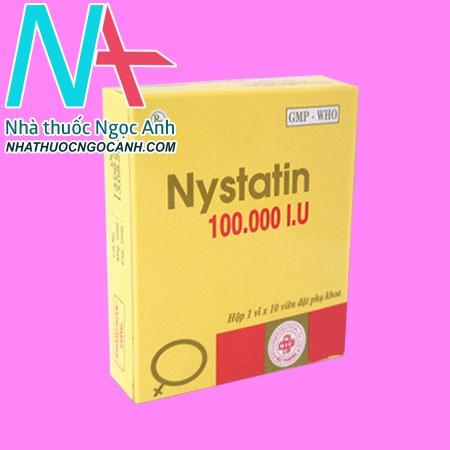 Nystatin đặt 100.000 IU