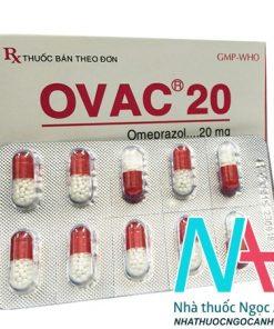 Ovac 20 có tác dụng gì