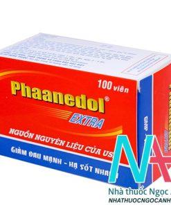 thuốc Phaanedol Extra giá bao nhiêu