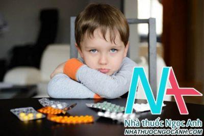 Sử dụng thuốc ở trẻ em