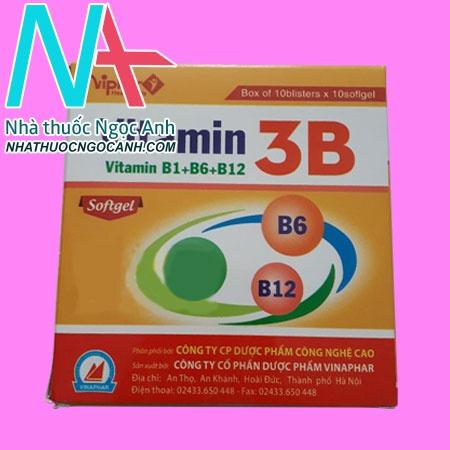 Vitamin 3B Softgel Vinaphar