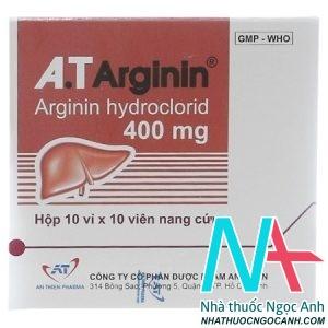 A.T ARGININ 400mg