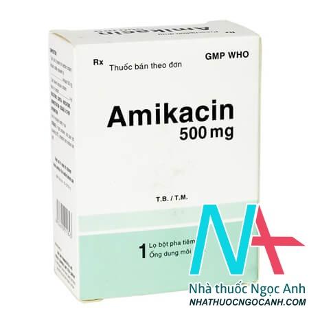 Thuốc Amikacin 500mg