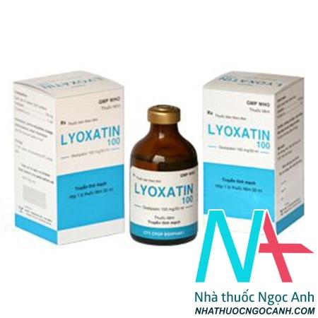 ảnh: Thuốc Lyoxatin 100