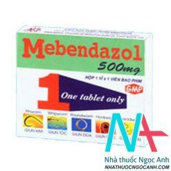 Thuốc Menbendazloe 500 mg
