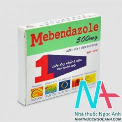 ảnh: Thuốc Menbendazloe 500 mg