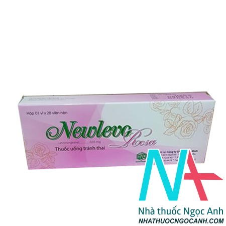 thuốc tránh thai newlevo màu hồng