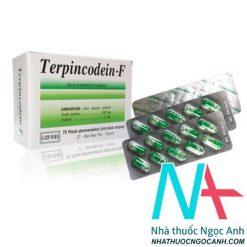 thuốc Terpincodein-F có tác dụng giảm ho, long đờm