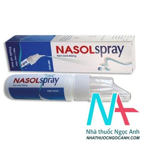 Thuốc xịt mũi Nasolspray