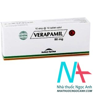 Thuốc Verapamil