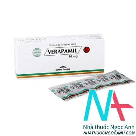 Dược chất verapamil